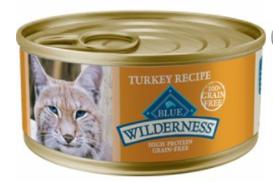 Blue Buffalo Wilderness Turkey Canned Cat Food, 5.5 oz