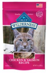 Blue Buffalo Wilderness Chicken & Salmon Grain Free Cat Treats