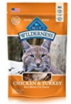 Blue Buffalo Wilderness Chicken & Turkey Grain Free Cat Treats 2 oz.
