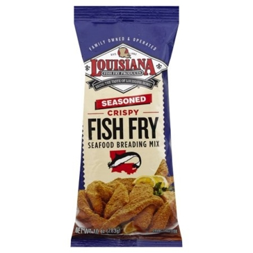 Louisiana Fish Fry 10oz Seasoned Mix