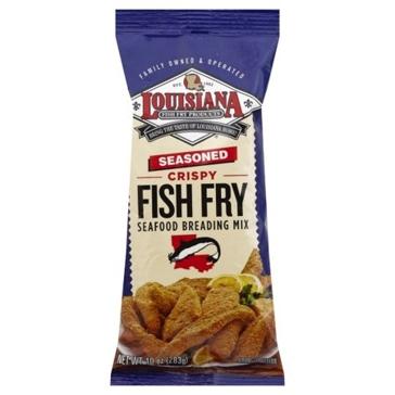 Louisiana Fish Fry 10oz Seasoned Mix