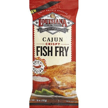 Louisiana Fish Fry 10oz Cajun Mix