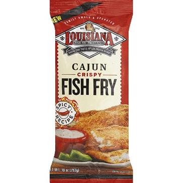 Louisiana Fish Fry 10oz Cajun Mix