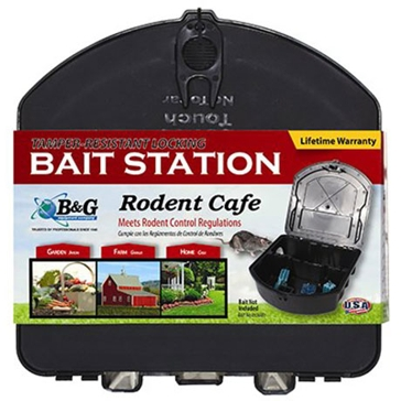 B&G Tamper-Resistant Locking Bait Station