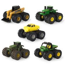 Ertl John Deere Monster Treads Mini Vehicle PDQ