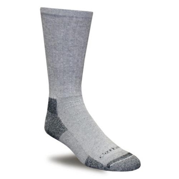 Men's 3 Pack All Season Cotton Crew Sock Gray