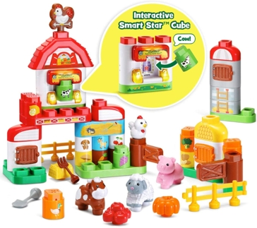LeapFrog LeapBuilders Fun Family Farm 80-606900
