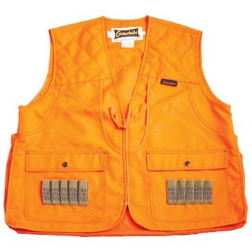 Gamehide Size Large Blaze Orange Safety Hunting Vest 3CV-OR