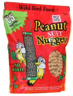 C&S Products Suet Nuggets - Peanut 27oz