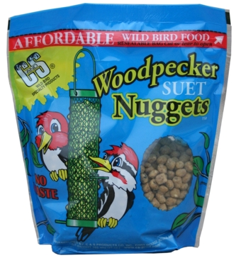 C&S Products Suet Nuggets - Woodpecker 27oz