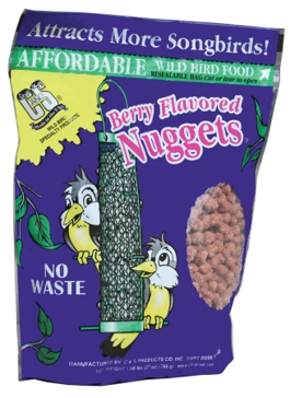 C&S Products Suet Nuggets - Berry 27oz