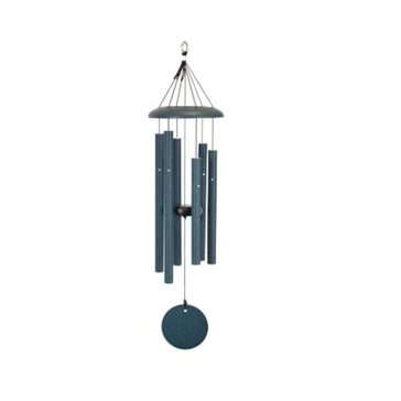 "Corinthian Bells 27"" Green Wind Chime - Scale Of C"