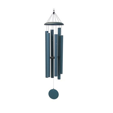 "Corinthian Bells 55"" Green Wind Chime - Scale Of G"