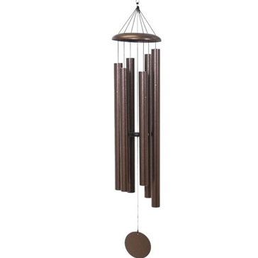 "Corinthian Bells 65"" Copper Vein Wind Chime - Scale Of D#"