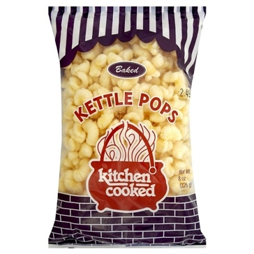 Kitchen Cooked Baked Kettle Pops 8oz Bag