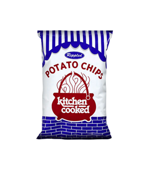 Kitchen Cooked 10oz Rippled Potato Chips 10311
