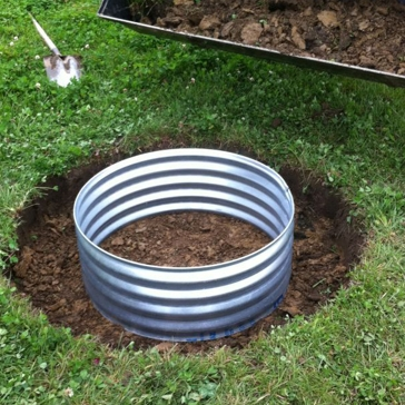 Metal Culverts 36in x 12in Fire Ring
