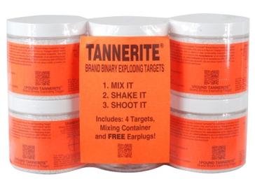 Tannerite 4Pk 1lb Brick Exploding Target