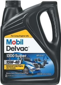 Mobil Delvac 15W-40 Diesel Engine Motor Oil 1 Gal
