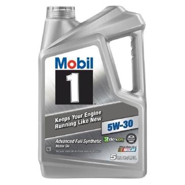 Mobil 1 5W-30 Advanced Full Synthetic Motor Oil 5 Qt