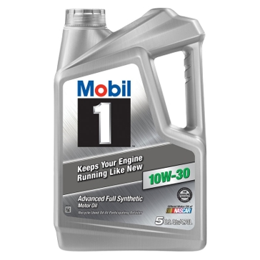 Mobil 1 10W-30 Advanced Full Synthetic Motor Oil 5 Qt