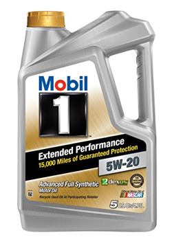 Mobil 1  Extended Performance 5W-20 Motor Oil - 5 Quart