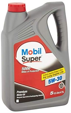 Mobile Super Motor Oil - 5 qt. - 5W30