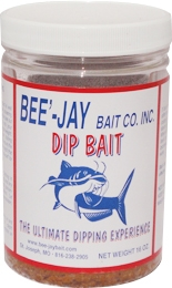 Bee'-Jay Bait Co Catfish Dip Bait Blood Formula 16oz