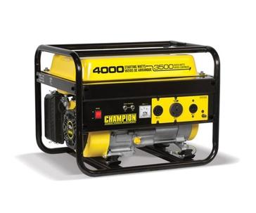 Champion 3500W/4000W 196cc Portable Generator 46596