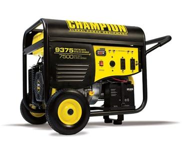 Champion 7500W/9375W 439cc Portable Generator 100219