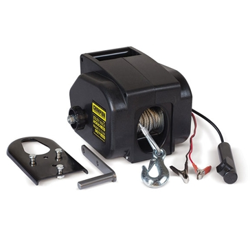Champion 2000lb 12V DC Utility Winch Kit