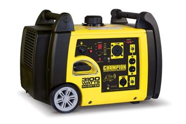 Champion 3100W Inverter Generator w/ Remote 75537I