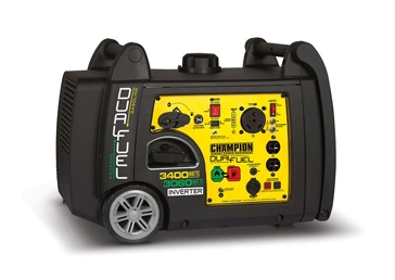Champion 3100/3400W Dual Fuel Inverter Generator 100263
