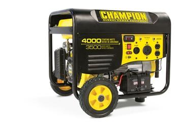 Champion 3500W/4000W 196cc Generator w/ Remote 46539