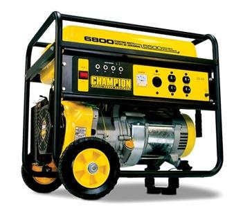 Champion 5500W/6800W 338cc Generator w/ Remote 41135