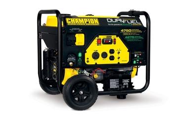 Champion 3800W/4750W 224cc Dual Fuel Generator 76533