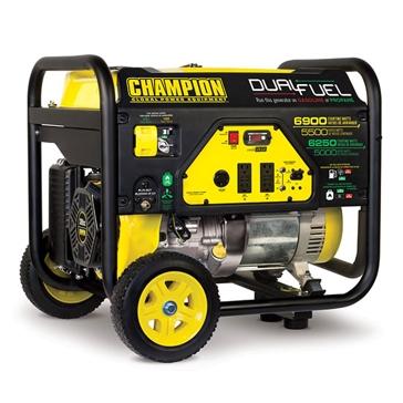 Champion 5500W/6900W 389cc Dual Fuel Generator 100231