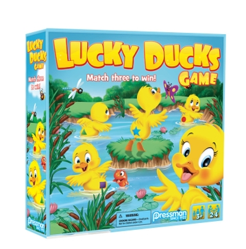 Pressman Toy Lucky Ducks Game