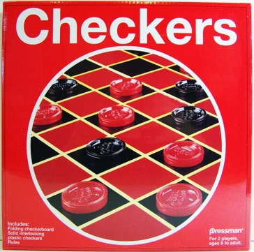 Pressman Toy Classic Checkers Board Game