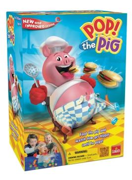 Pressman Toy Pop The Pig Game