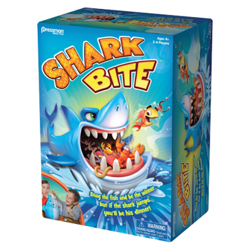 Pressman Toy Shark Bite Game