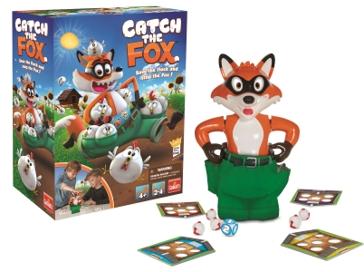 Pressman Toys Catch the Fox Game