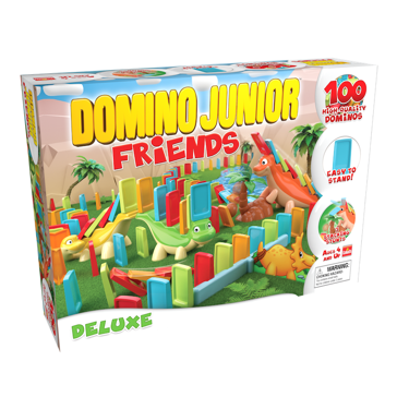 Pressman Toy Domino Junior Friends Game