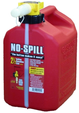No-Spill 2.5 Gallon Gas Can 1405