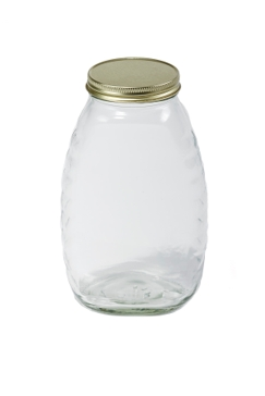 Little Giant Beekeeping 32oz 12-Pack Glass Jar HJAR32