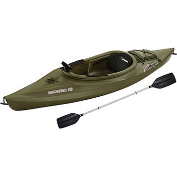 Sun Dolphin Excursion 10ft Sit-In Fishing Kayak Green 51340-P