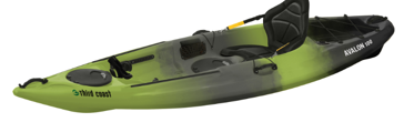 Sun Dolphin Avalon 100 Sit-On Angler 10' Kayak 58293