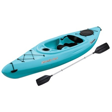 Sun Dolphin Phoenix 10.4 Sea Blue Sit-In Kayak 53362-P