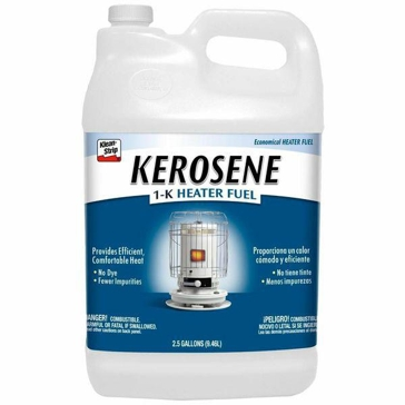 Klean Strip Kerosene 1-K Heater Fuel 2.5-Gallon