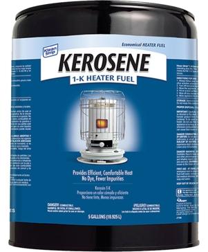 Klean Strip Kerosene 1-K Heater Fuel 5-Gallon